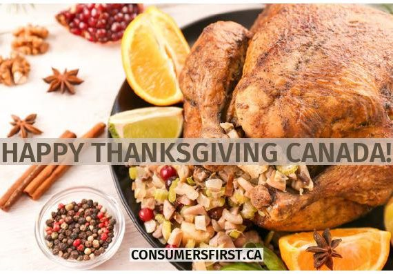 Happy ThanksGiving Canada !